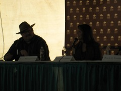 Scott Montgomery and Janice Hamrick, 2012 Texas Book Festival
