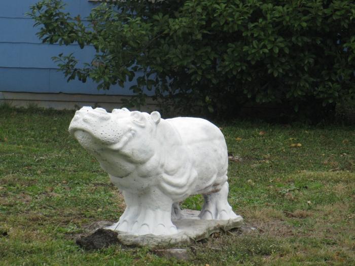 Alabaster Hippo