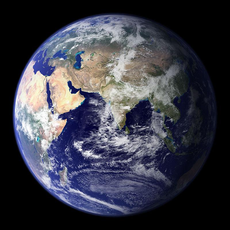 NASA Blue Marble of Western Hemisphere http://veimages.gsfc.nasa.gov//2429/globe_east_540.jpg