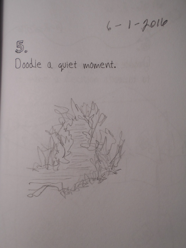 Doodle #5. Quiet river