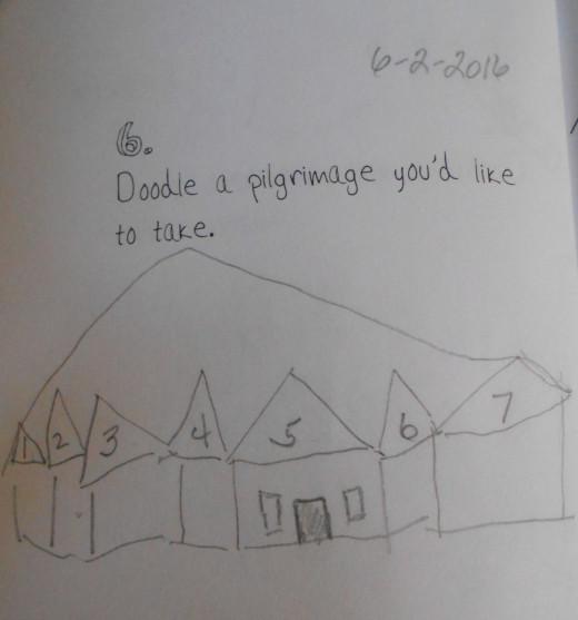 Doodle #6. A Pilgrimage