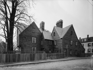 House of the Seven Gables. By Detroit Publishing Co. [Public domain], via Wikimedia Commons