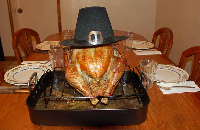"""Thanksgiving Turkey"" is licensed by Danny Murphy under CC BY-NC-ND 2.0."