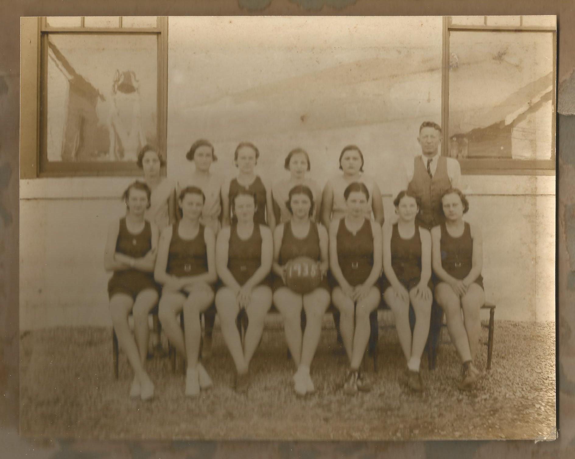 Martindale girls basketball team - Crystal Barrow capt. (2)