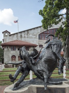 2018-10-18 cowboy and steer fort worth pixabay ttm cc0 statue-720781_640