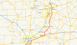 Map of TX SH 130 by Fredddie under CC BY-SA 3.0, via Wikipedia